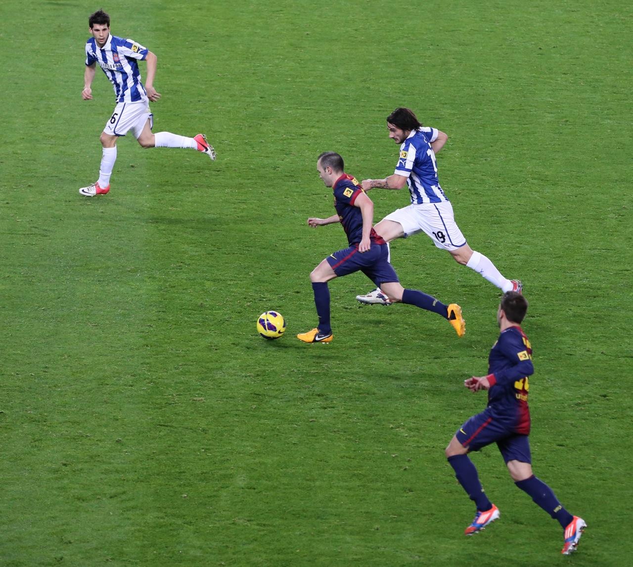 スペイン(サッカー観戦)
