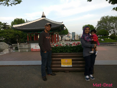 Percutian ke Busan Kores Selatan Tempat Menarik Yeongdusan Park