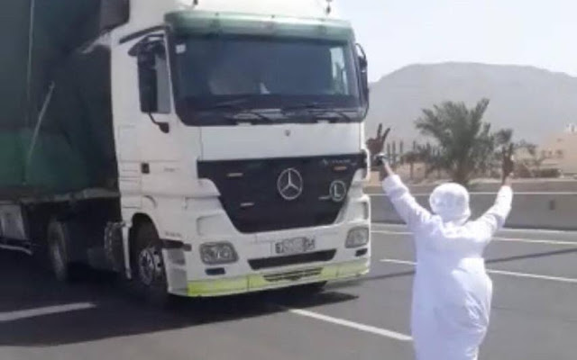 SAUDI ARRESTED FOR RISKING THE LIVES OF ROAD USERS