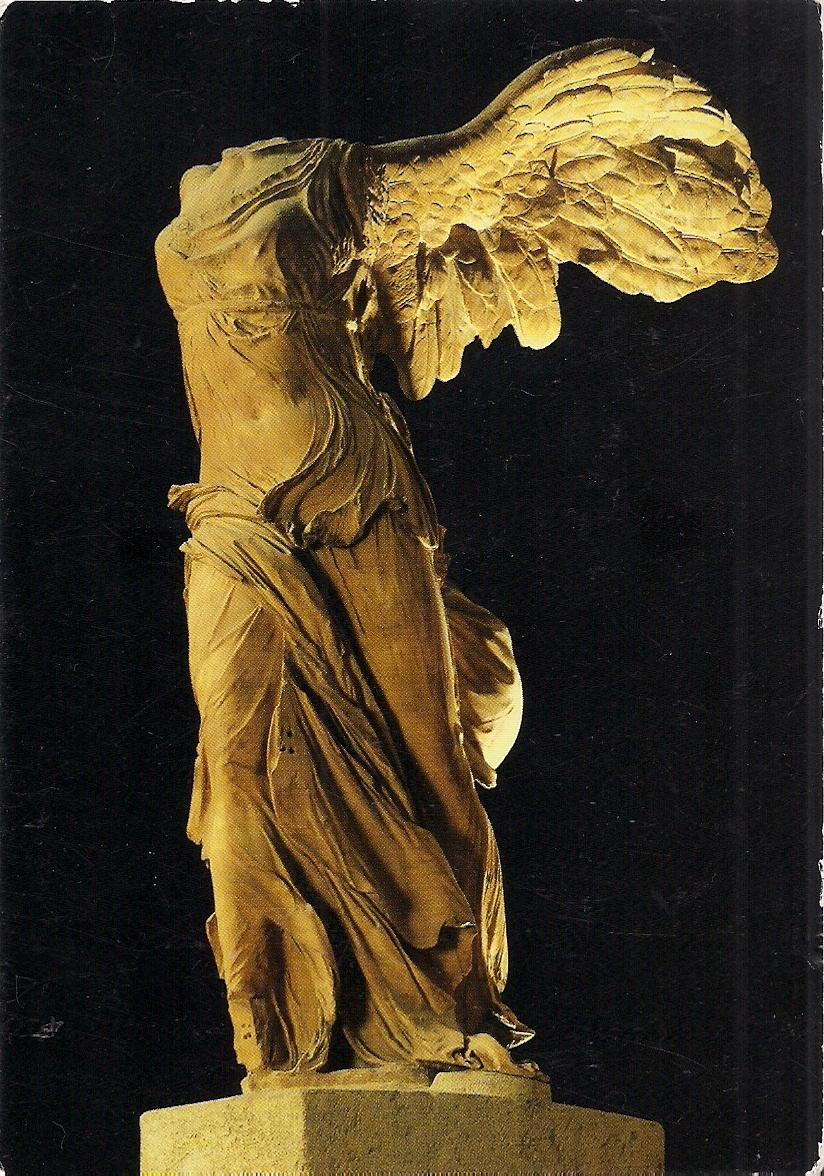 Postcards2lufra The Winged Victory