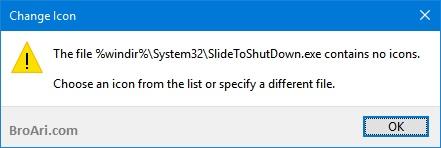 Menambahkan Slide to Shutdown pada Windows 10