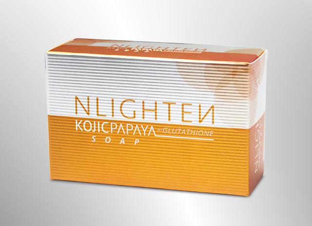 NWORLD | NLIGHTEN Kojic Papaya with Glutathione soap