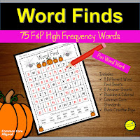 Word Finds to practice Sight Words Teach Magically