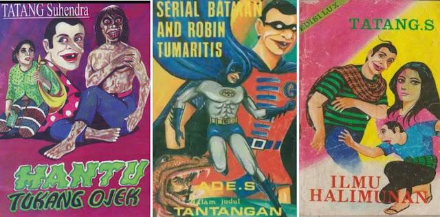 Legenda komik petruk gareng karya tatang s