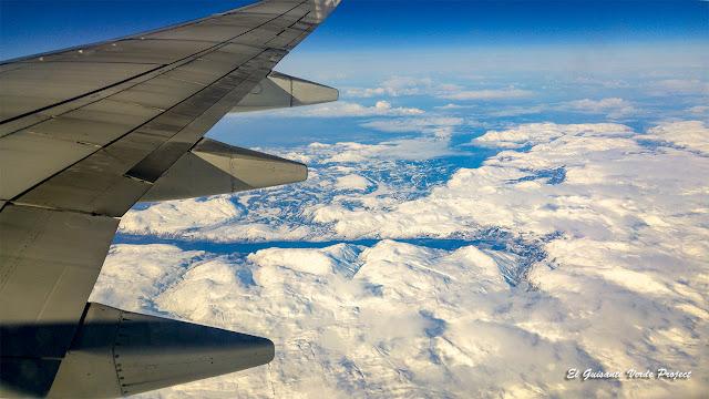 Región de Tromso desde el cielo por El Guisante Verde Project