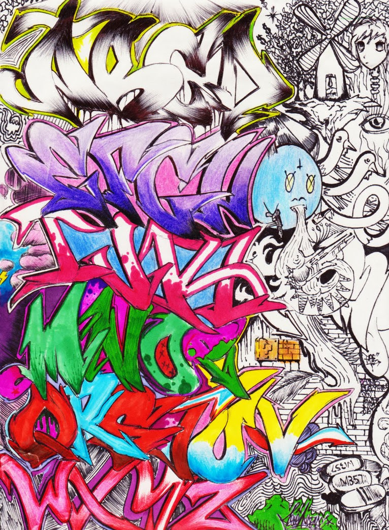 Make up your types of graffiti alphabets best graffitianz - Graffiti alfabet ...