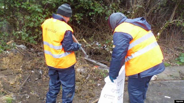 Contratados temporales para la eliminación de vertederos