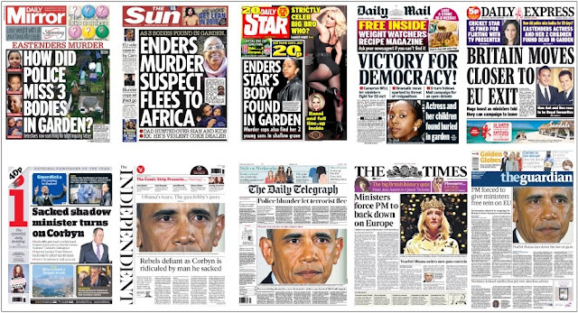 Jan 6 front pages