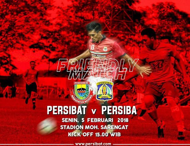 Friendly Match Persibat Batang vs Persiba Balikpapan