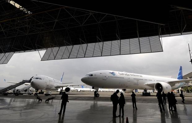1.300 Pilot Garuda Indonesia Ancam Mogok Saat Puncak Arus Mudik