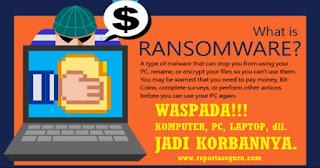 Kemkominfo : Ini Cara Mengatasi Virus Komputer Terbaru Jenis Malware Ransomware WannaCry