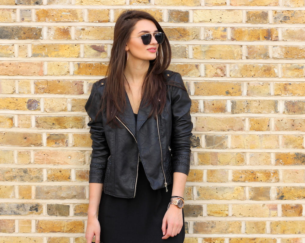 fahion blogger peexo all black summer outfit