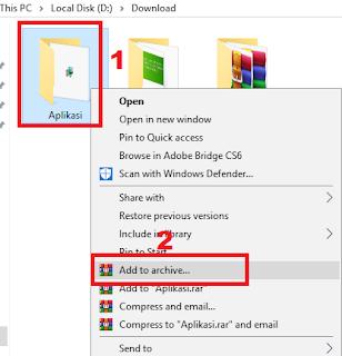 Pada kesempatan kali ini saya ingin membagikan pengalaman menarik saya kembali dengan ber Cara Mengunci Folder ZIP dan RAR dengan Password di PC Terbaru 2019