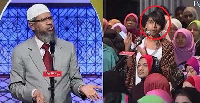 Mahasiswi Ini Jebak Dr Zakir Naik dan Menuduhnya Yahudi, Ini Bantahan Cerdasnya