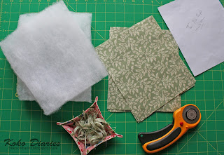 Prepared Fabric Cut with Trimmings