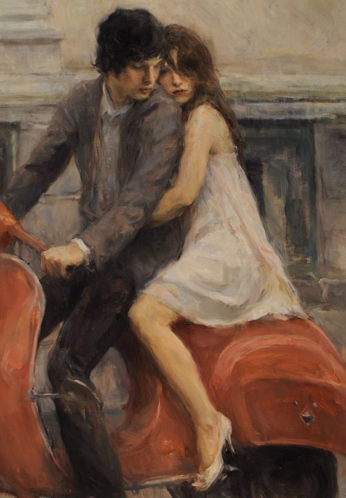 Ron Hicks 1965 | American Impressionist painter