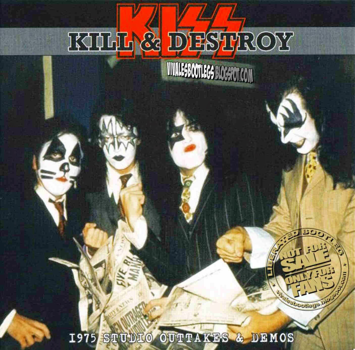 T U B E : Kiss - 1970s Demos 1975 (Kill & Destroy) (STU/FLAC)
