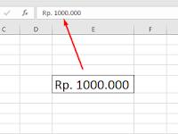 Cara Praktis Membuat Simbol Mata Uang di Excel