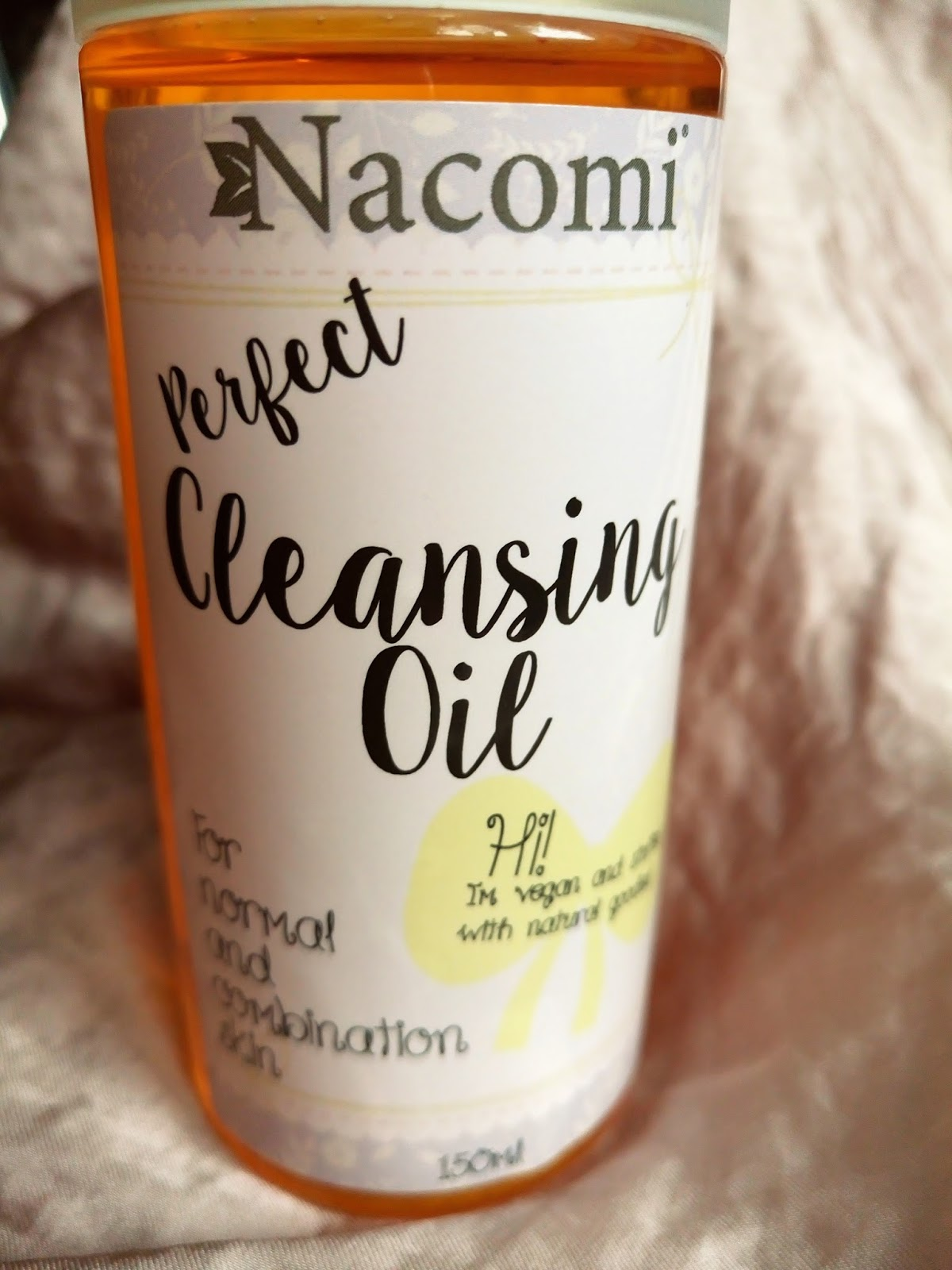Nacomi Cleansing Oil, olejek do usuwania makijażu