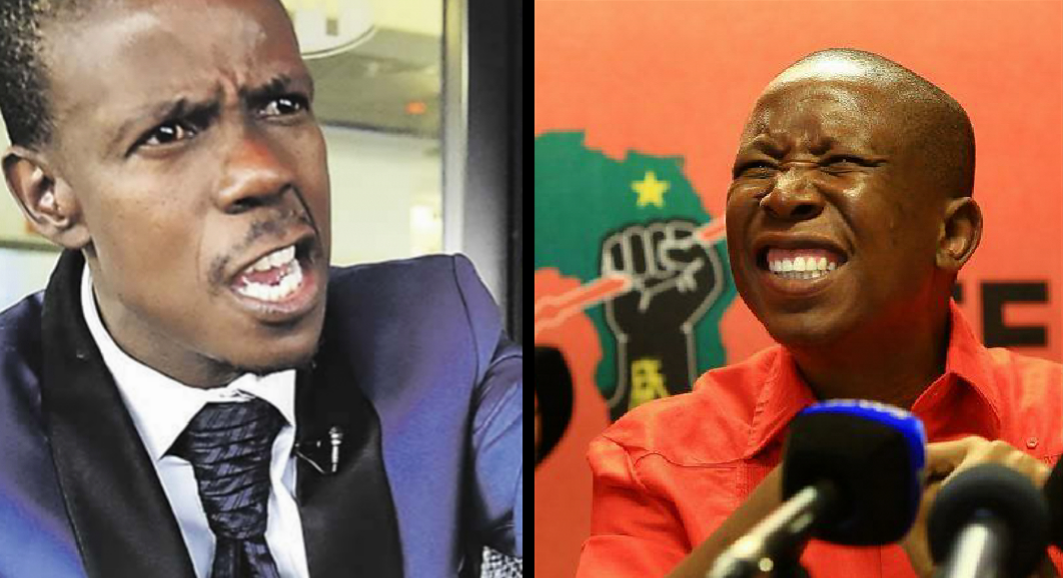 Malema His Eff Party Will Burn In Hell Claims Prophet Mboro