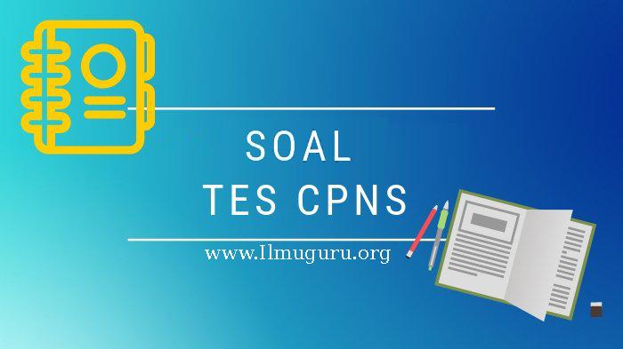 Download Lengkap Contoh Soal Dan Kunci Jawaban Cpns Terbaru