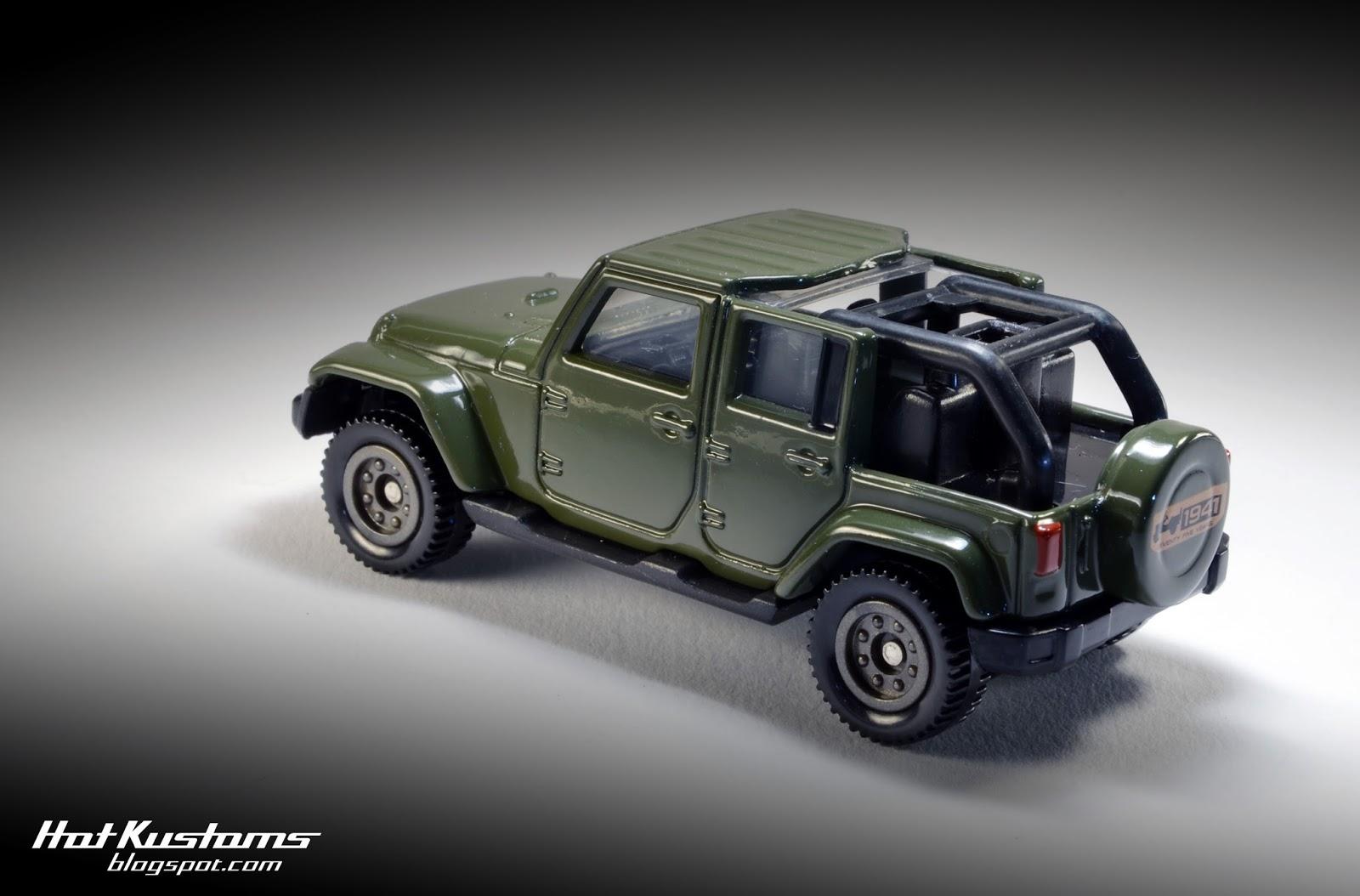 mini hot jeep tomica anniversary cars kustoms edition wrangler dealer