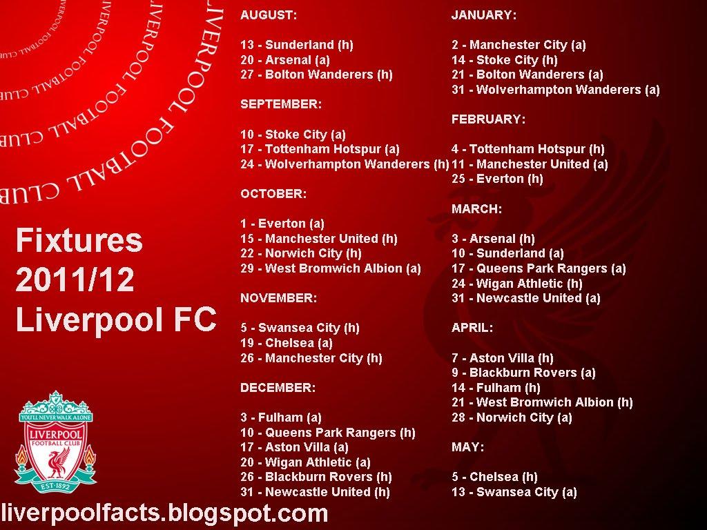 liverpool fixtures - photo #31