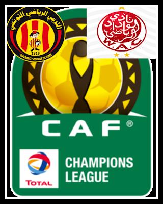 نهائي دوري أبطال أفريقيا بين الوداد البيضاوي المغربي والترجي التونسي