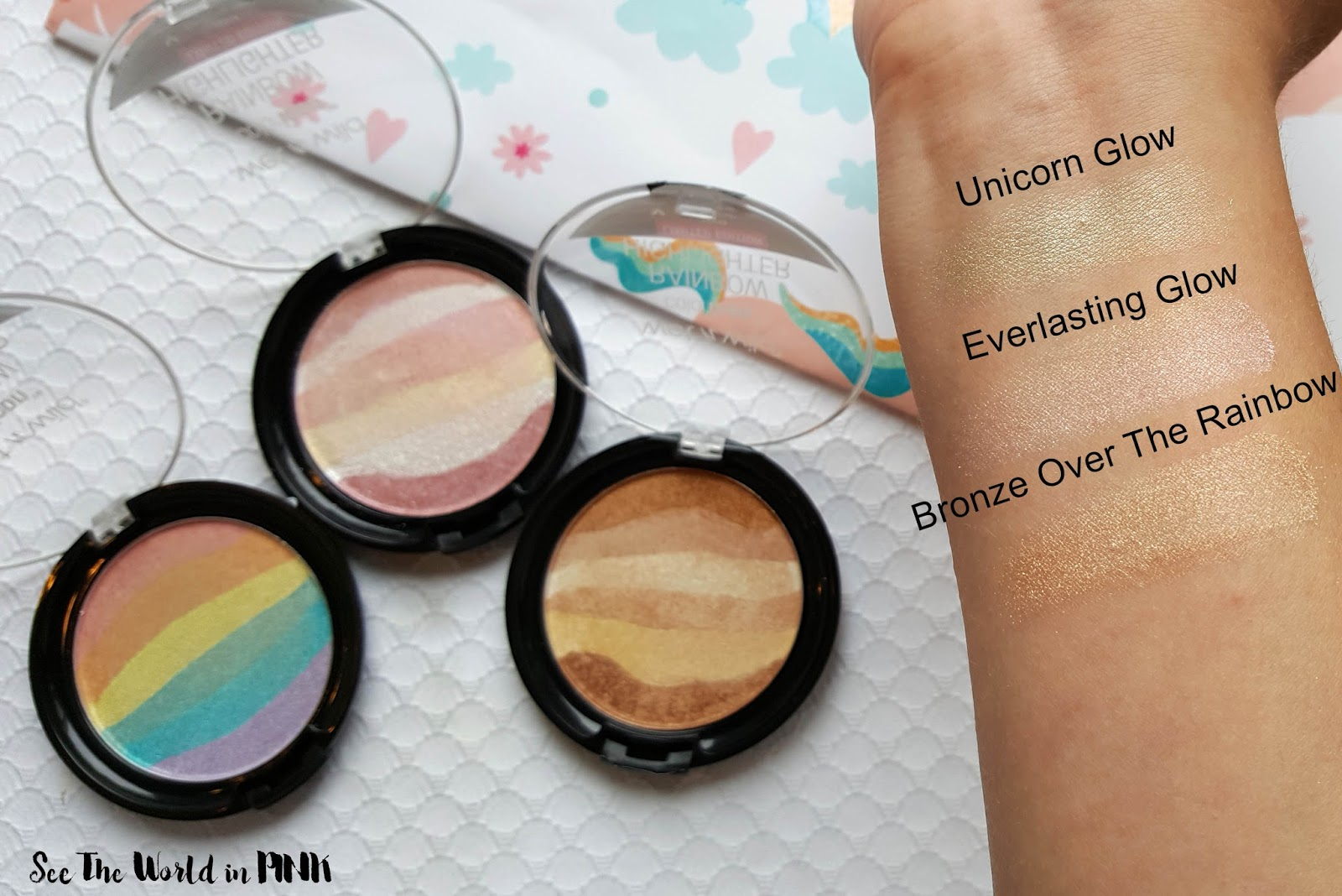 Wet 'N Wild Unicorn Glow Whole Summer Collection - Rainbow Highlighters and More!