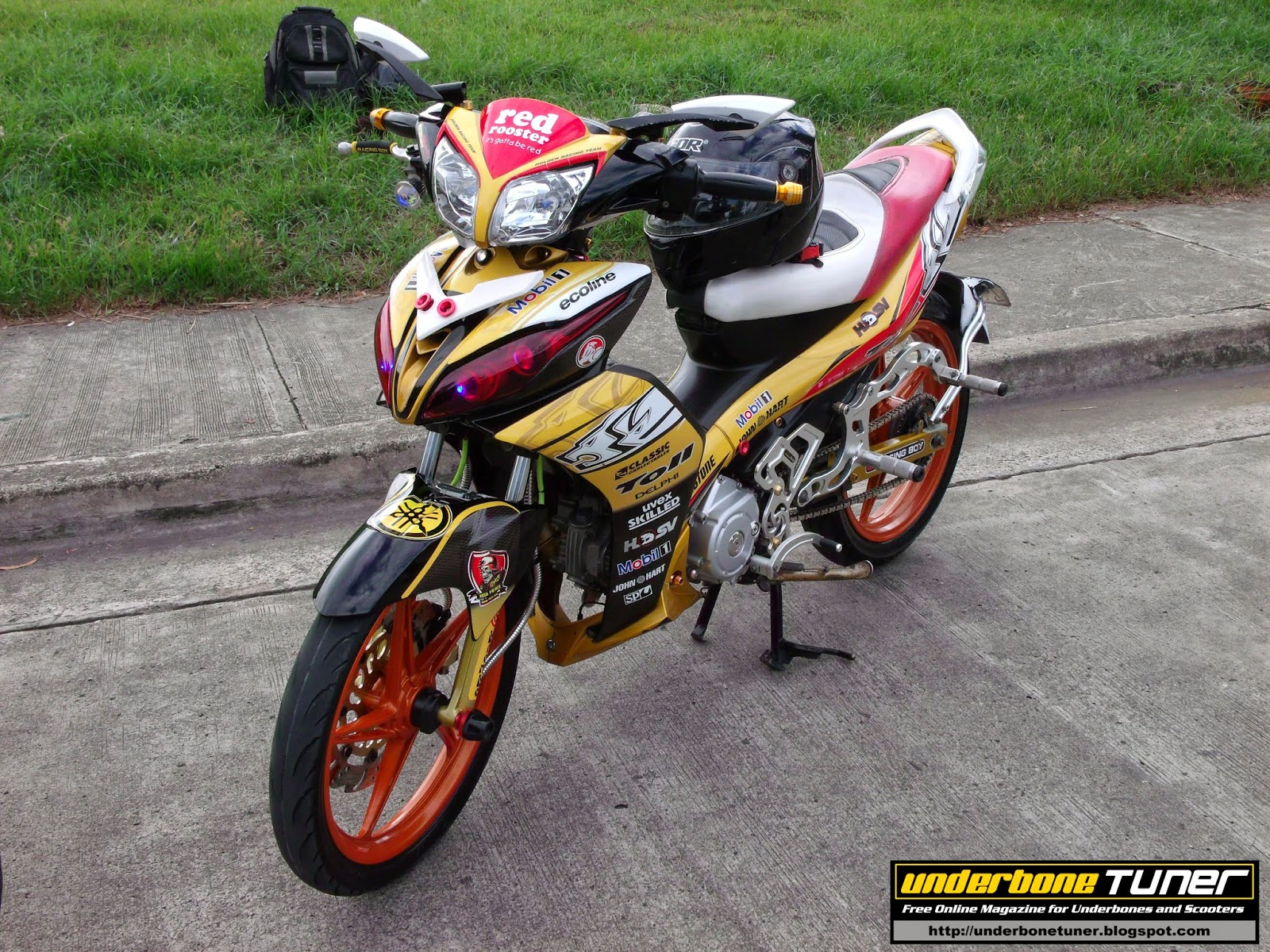 Underbone Tuner: Modified Bikes: MotoGp Inspired Yamaha