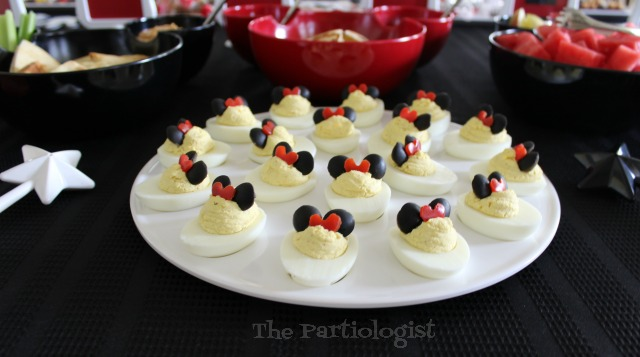 how to make minnie mouse deviled eggs