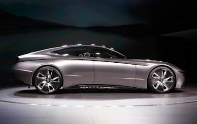 Hyundai Le Fil Rouge concept car.