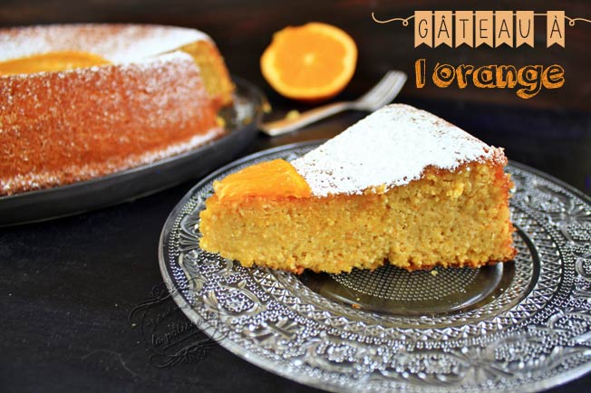 gateau orange sans gluten