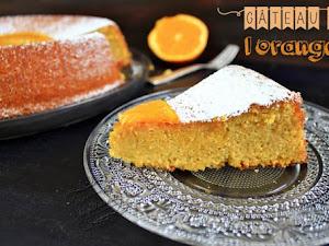 Gâteau à l'orange sans beurre et sans gluten !