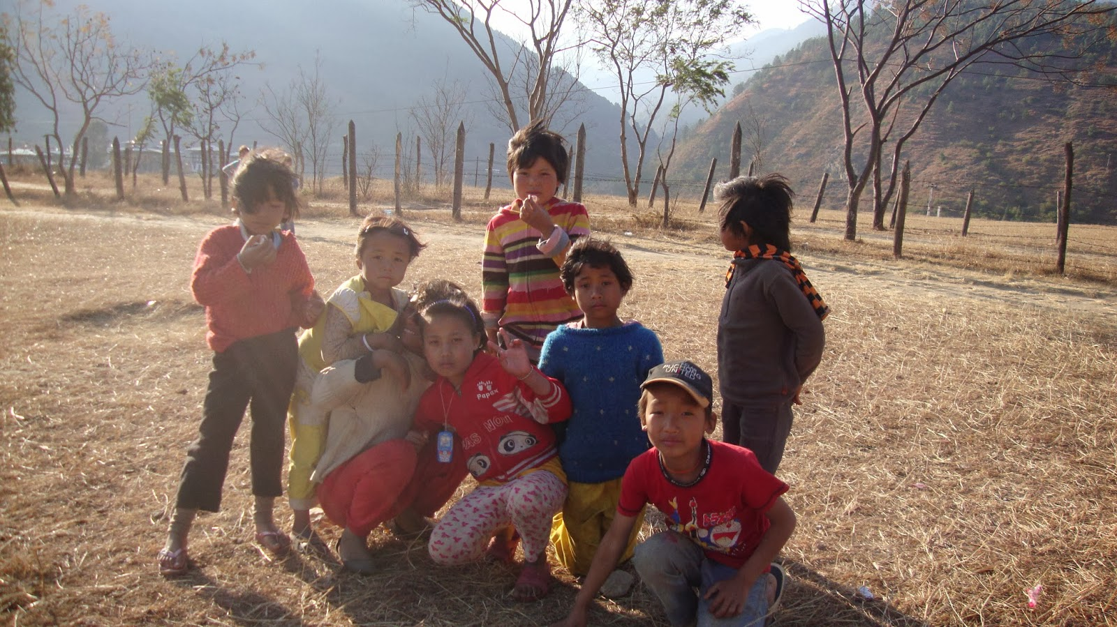 Joyful kids of Bhutan - the land of happiness