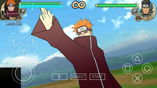 Texture Naruto Impact: Yahiko Edo Tensei for PSP Android