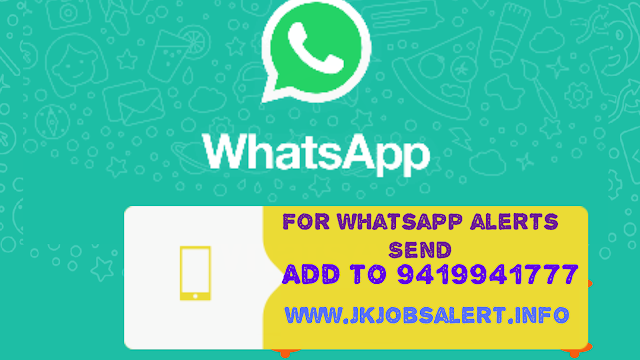 Kashmir University Recruitment 2019#www.jkjobsalert.info