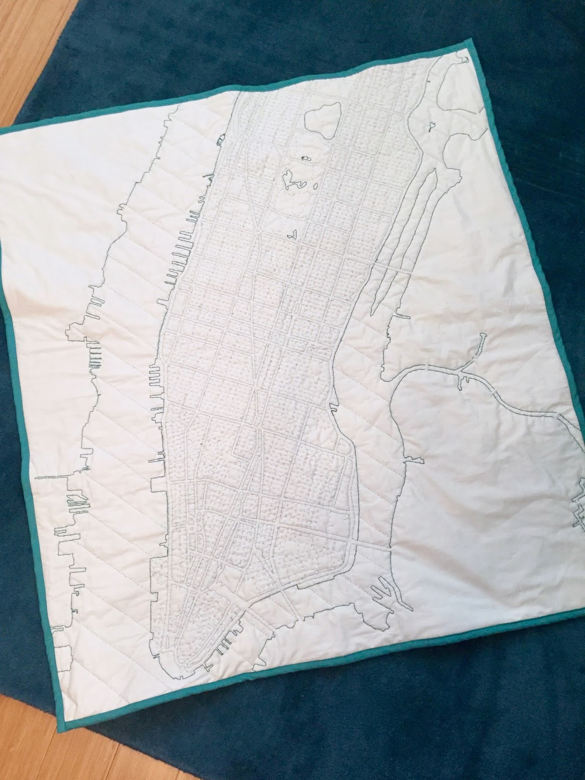 Diary of a Chain Stitcher : Haptic Lab New York Quilt and Grand ... : new york city quilt - Adamdwight.com