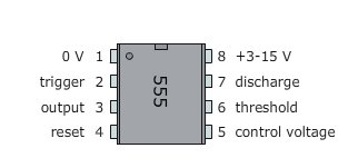 rangkaian saklar sentuh berbasis ic 555