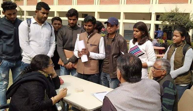 Akhil Bharatiya Vidyarthi Parishad asked ABVP to submit memorandum to the college publicity