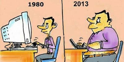 Resultado de imagem para antes e depois do computador