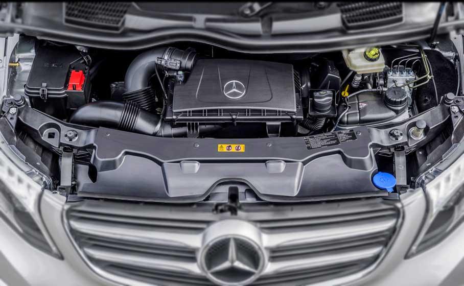Kết quả hình ảnh cho Mercedes V 250 Avantgarde engine