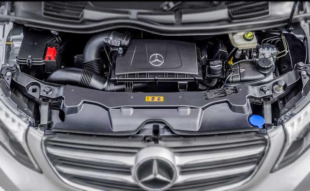 Động cơ Mercedes V250 Avantgarde 2017 vận hành mạnh mẽ và vượt trội