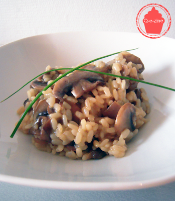 risotto champignon Paris simple