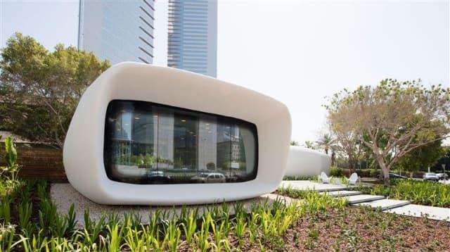 Dubai Perkenalkan Kantor Pertama yang Dicetak dengan Printer 3D