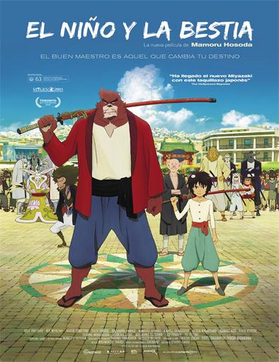 Ver El niño y la bestia (Bakemono no ko) (2015) Online