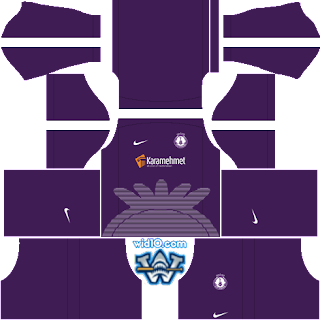 Afjet Afyonspor 2018 - 2019 DLS/FTS Dream League Soccer Forma Kits ve Logo
