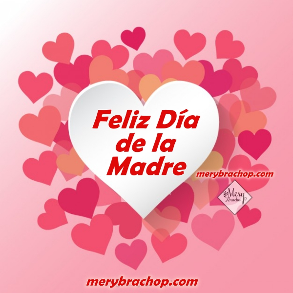 Imágenes con saludos cristianos para el día de la madre, frases bonitas con tarjetas para feliz dia de las madres por Mery Bracho.