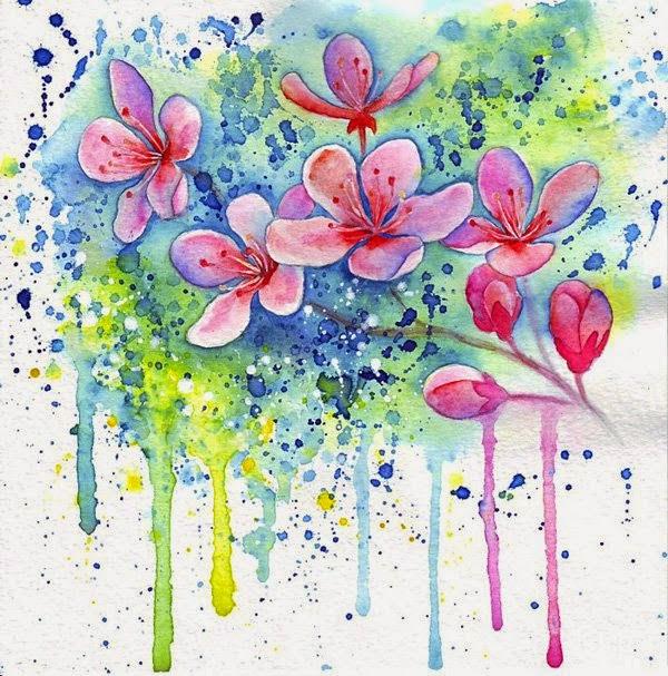 Watercolor Paintings by Zhanna Kabina
