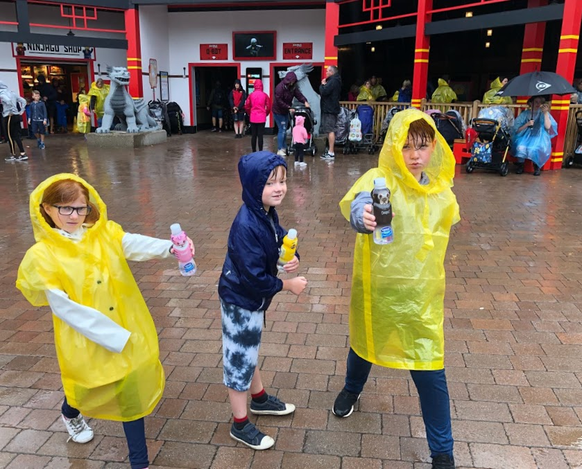 Embracing Water and Rain at LEGOLAND® Windsor Resort  - LEGO Ninjago Ride